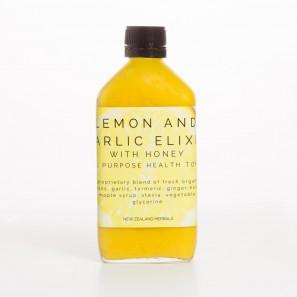 Lemon and Garlic Elixir